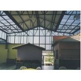 fabricante de cobertura de policarbonato residencial Bahia