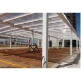 fornecedor de cobertura de policarbonato para galpão sob medida Salesópolis