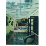 fornecedor de cobertura de policarbonato para lavanderia sob medida Itu