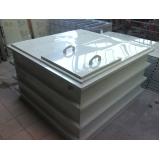 instalação de reservatório cilíndrico para armazenar água em Sapopemba