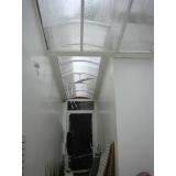 onde encontrar fabricante de cobertura de policarbonato para industria Parque São Rafael