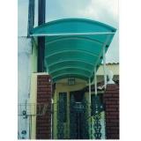 orçamento de telhado de policarbonato azul em Itupeva