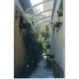 orçamento de telhado de policarbonato para iluminação em Paulínia