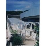 orçamento de telhado de policarbonato sob medida em Taubaté