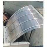 quanto custa telhado de policarbonato azul no Glicério