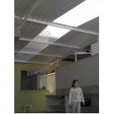 quanto custa telhado de policarbonato em Moema