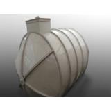 reservatório d'água de fibra de vidro Tremembé
