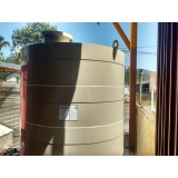 reservatório de água horizontal