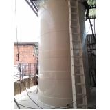 reservatório de fibra cilíndrico preço no Suzano