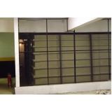 reservatório de fibra de vidro industrial no Santo André