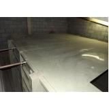 reservatório de fibra de vidro para indústria na Santana