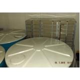 reservatório em fibra de vidro industrial na Ponte Rasa