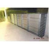 reservatório modular para armazenar água no Raposo Tavares