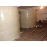 reservatório modular para obras em Bauru