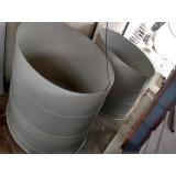 reservatório para água industrial Cachoeirinha
