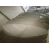 reservatório para armazenamento de água na Anália Franco