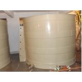 reservatórios cilíndricos de água no Raposo Tavares