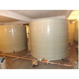 reservatórios de fibra de vidro na Cidade Ademar