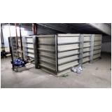 reservatórios modulares de água no Francisco Morato