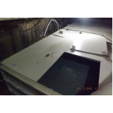 reservatório modular para armazenar água