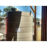 tanque cisterna de água enterrado
