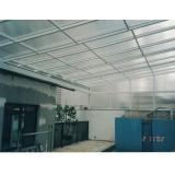 telhado de policarbonato abre e fecha em Sumaré