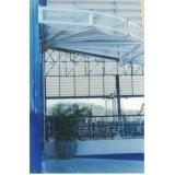 telhado de policarbonato compacto preço no Suzano