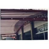 telhado de policarbonato para galpão em Mendonça