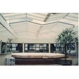 telhado de policarbonato retrátil preço em Vinhedo