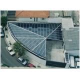 telhado de policarbonato sob medida preço no Brooklin