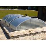 telhados de policarbonato abre e fecha na Lapa