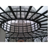telhados de policarbonato alveolar na Penha