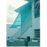 telhados de policarbonato compacto na Vila Mariana