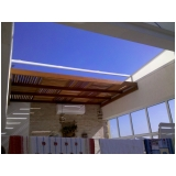 telhados de policarbonato de correr no Centro
