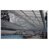 telhados de policarbonato retrátil na Barra Funda