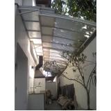 telhados de policarbonato no Sacomã